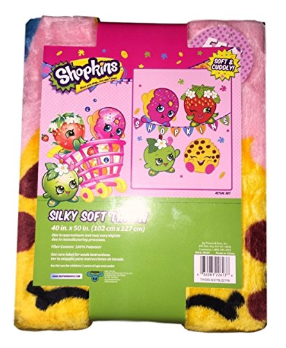 Shopkins Silky Soft Throw