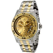 Invicta Men s 6857 II Collection Chronograph Two-Tone Stainless Steel Watch