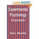 Experimental Psychology Essentials