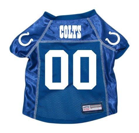 NFL Indianapolis Colts Hunter Pet Jersey, Small, Royal (Colt Mascot Costume)