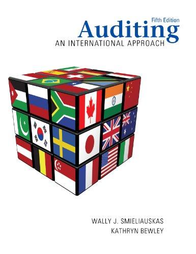 Auditing: An International Approach, Fifth Edition