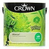 Crown Breatheasy Emulsion Paint - Silk - Alliance - 2.5L