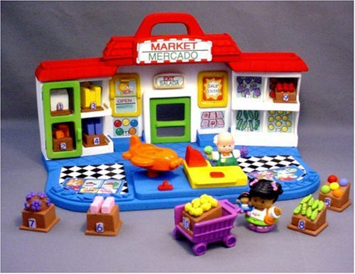 Fisher Price Little People Shop 'N Learn Market - 1
