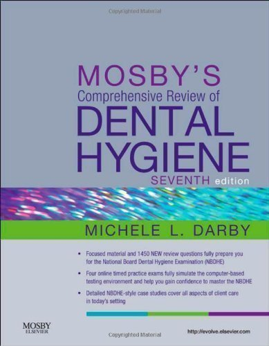 Mosby's Comprehensive Review of Dental Hygiene, 7e 7th Edition by Darby BSDH MS, Michele Leonardi (2011) Paperback