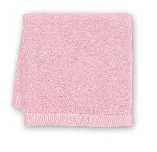 GUND Bear Essential Ringspun Face Towel, Popsicle Pink, 12'' By 12'' - 1