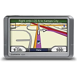 51W7xhE0hzL. SL500 AA300  Garmin nuvi 260W 4.3 Inch Widescreen Portable GPS Navigator   $110 Delivered