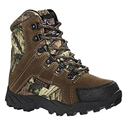 Rocky FQ0003710 Kid\'s Hunter Brown/MO Infinity Boot 3 M US