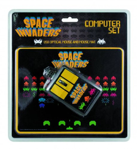 50Fifty Space Invaders Computer Set - 1