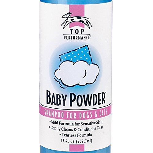 Top Performance Baby Powder Pet Shampoo, 17-Ounce
