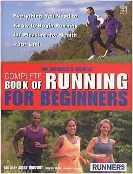 Runner's World Book of Running for Beginners: Amazon.co.uk