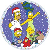 The Simpsons CC105 Family Christmas  Circular Jigsaw 500 pcs