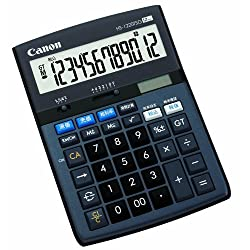 Canon 電卓 HS-1220TSG SOB 12桁 グリーン購入法適合 商売計算機能付 時間計算付 税計算可 卓上タイプ