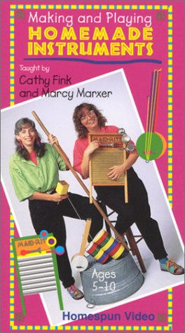 Marcy Marxer: Making & Playing Homemade Instruments [VHS]