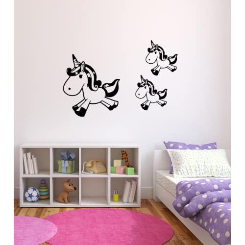 Unicorn Vinyl Wall Decal Sticker Graphic By LKS Trading Post