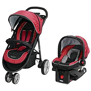 Graco Aire3 Click Connect Travel System, Helios