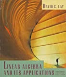 Linear Algebra and Its Applications/With Study Guide (0201301210) by David C. Lay