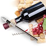 Wine Chiller, MLVOC 3-in-1 Wine Bottle Cooler Stick 304 Stainless Steel Wine Aerator and Wine Pourer