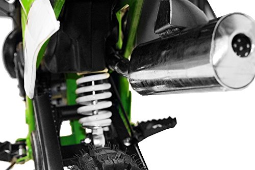 Dirtbike NRG50 GT 49cc 12/10 | Cross Enduro Pocket Bike Quad (Blau) -