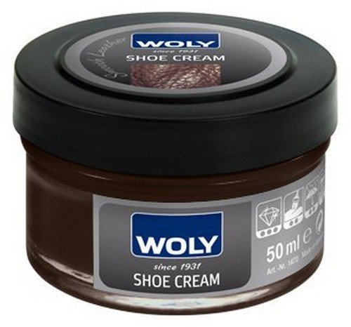 Woly Woly Shoe Cream Polish Medium (Brown)