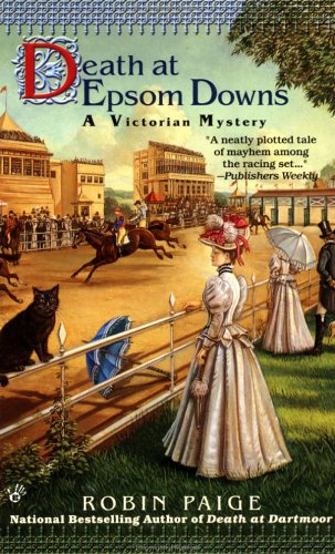 Image for Death at Epsom Downs (Victorian Mystery)