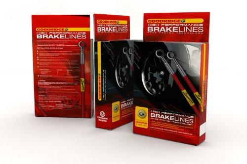 Goodridge Braided Brake Lines Audi S3 Quattro 10/2001 - 05/2003