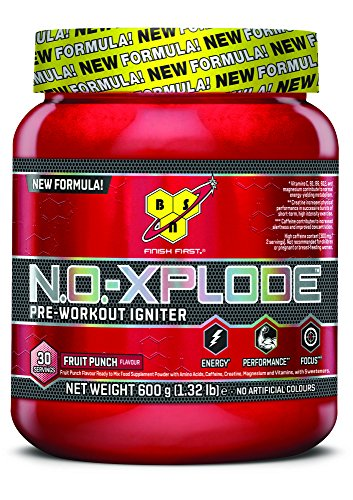 BSN Supplemento Nutrizionale No Xplode 3, Fruit Punch 30 Servings Sp - 600 gr