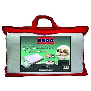 Dodo 70610 Oreiller Ergonomique 32 cm x 52 cm Ergonomique