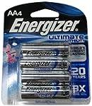 Energizer L91BP4 AA Lithium Batteries...