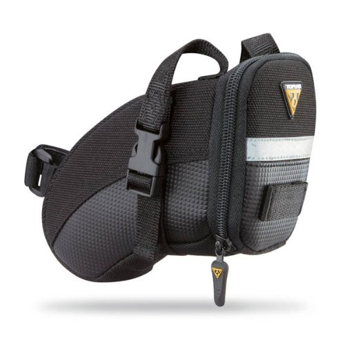 Aero Wedge Pack, w strap mount, Small