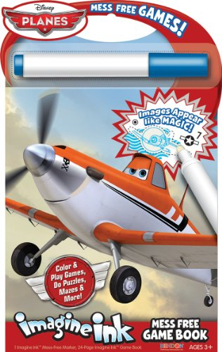 Bendon Publishing Disney Planes Imagine Ink Mess Free Game Book - 1