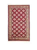 Navaei & Co. Alfombra Kashmir Rojo/Multicolor 127 x 77 cm