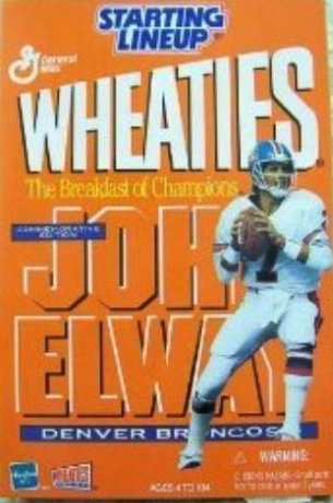 2000 NFL Wheaties Starting Lineup - John Elway - Denver Broncos - 1