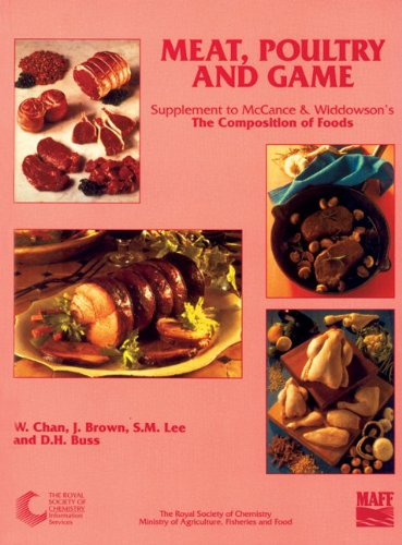 MEAT, POULTRY AND GAME: