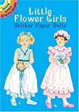 Little Flower Girls Sticker Paper Dolls