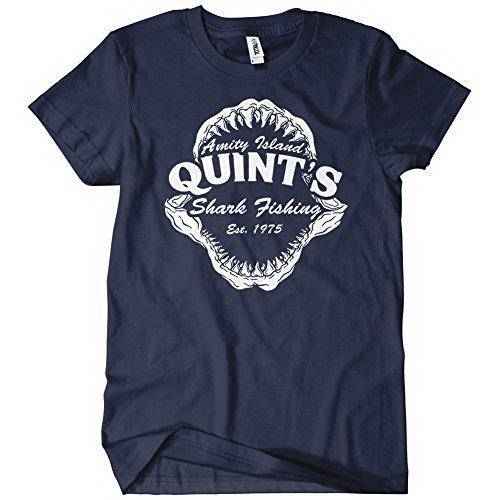 Quint's Shark Fishing Amity Island T-Shirt