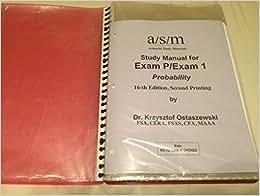 ACTEX Study Manual for SOA Exam FM December 2014 Edition (2 volumes)