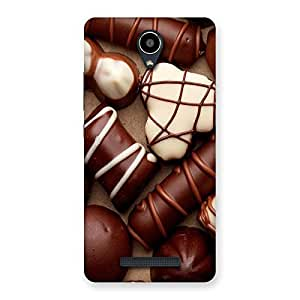 Ajay Enterprises Choclate an sweets Back Case Cover for Redmi Note 2