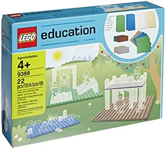 LEGO Education Small Building Plates Set 4646267 (22