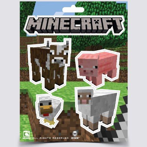 Imagen principal de Minecraft Animales Paquete de Etiqueta