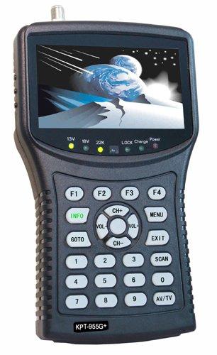 KangPut KPT-955G+(plus) AHD handheld satellite finder cctv camera monitor satellite hd sat finders satellite finder DVBS2 MPEG4 signal dvb-s2 antenna satellite