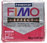 Fimo Soft Polymer Clay 1.97 Ounces-8020-28 Metallic Ruby Red
