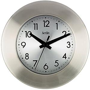 Button Wall Clock Kitchen Home