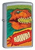 Zippo T-Rex Lighter - Street Chrome