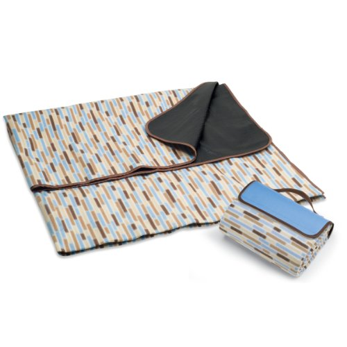Picnic Time Sunshine Blanket Tote, Driftwood