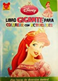 Little Mermaid (Disney 96 Page Coloring) (Spanish Edition)
