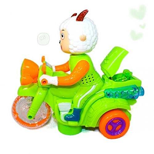 Pleasant Goat Motorbike Light Music Electric Toy By Preciastore