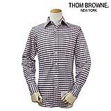 (トムブラウン)THOM BROWNE NEW YORK ボタンダウン シャツ チェックシャツ CHECK PATTERNED BOTTON SHIRT 1 (並行輸入品)