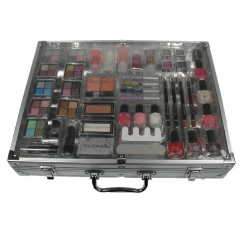 Amelia Knight England-Moonlight Shimmer 46 Piece Cosmetic Make-up Gift Set Case