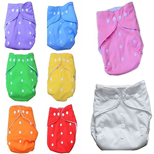 Cloth Nappies Washable Reusable Adjustable Boy One Size Pocket Cover