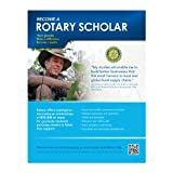 Rotary Scholar flier